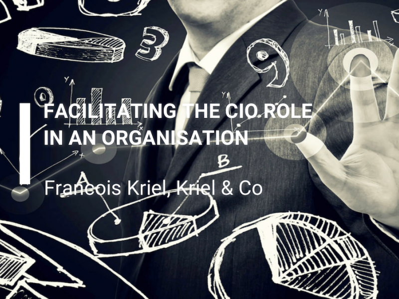 Facilitating the CIO role in an organisation